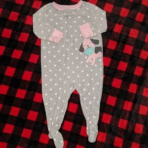 Baby girl's sleeper by Carter's size 6 mos.